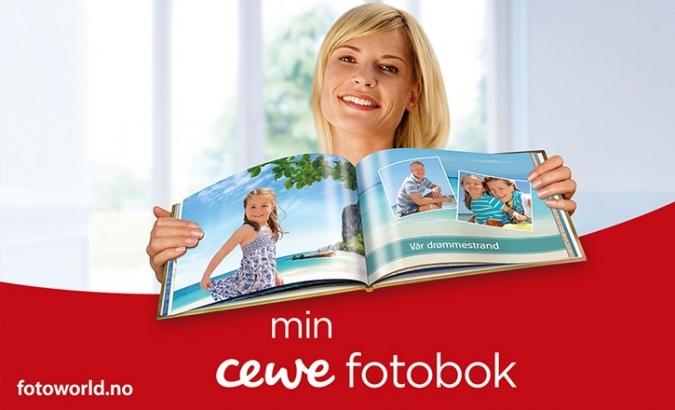 CEWE fotobok  title=