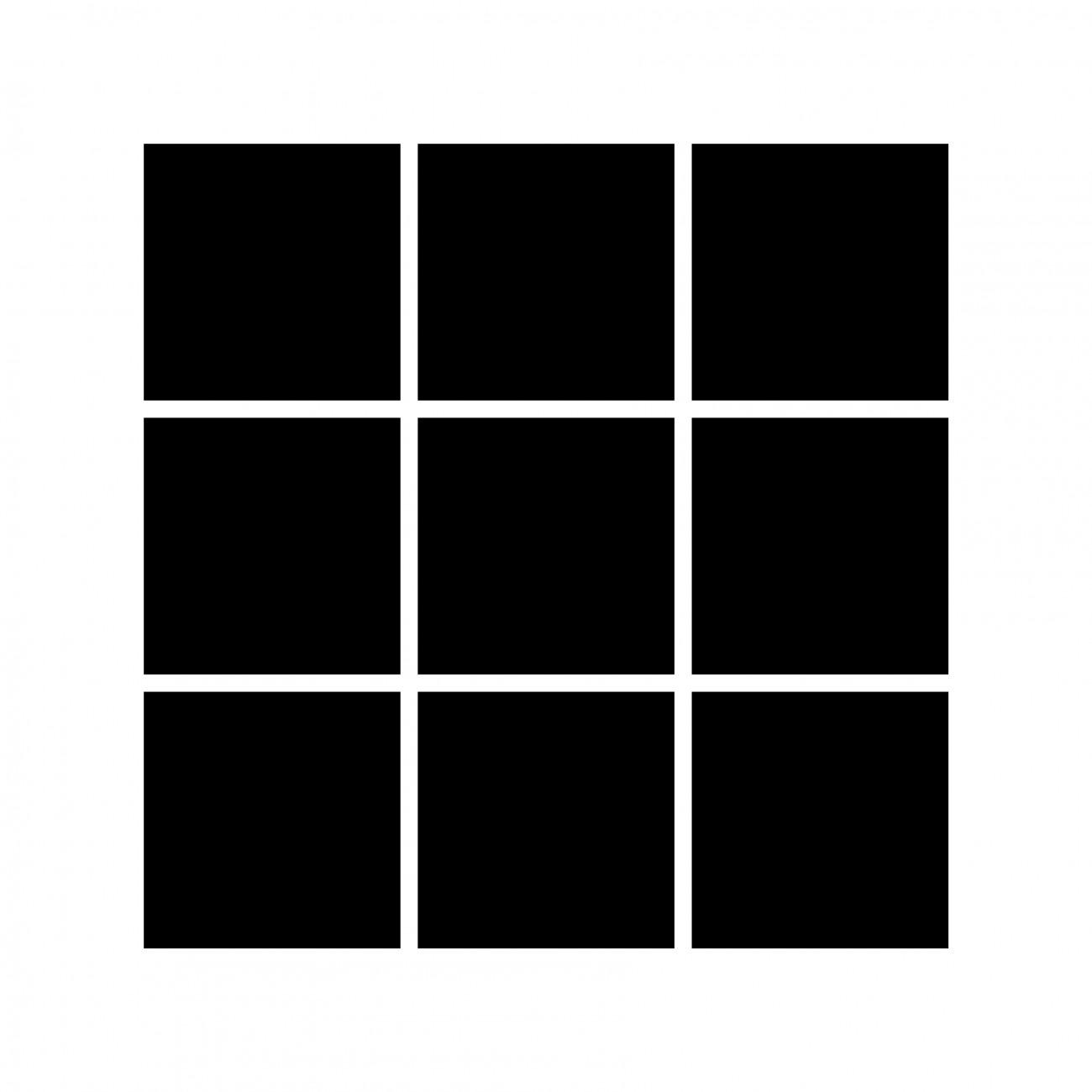 Kvadratisk 01 - 9 bilder